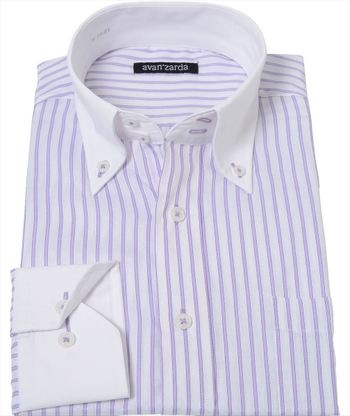 パープルのシャツの画像