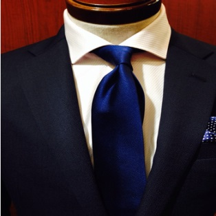 ブルー ネクタイ
