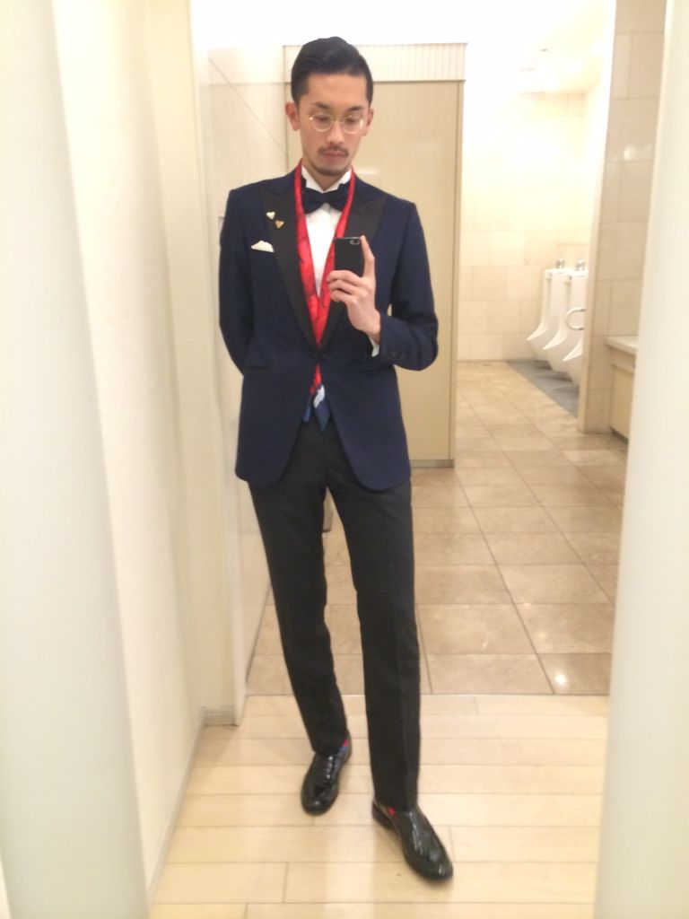 スーツのコーディネート画像