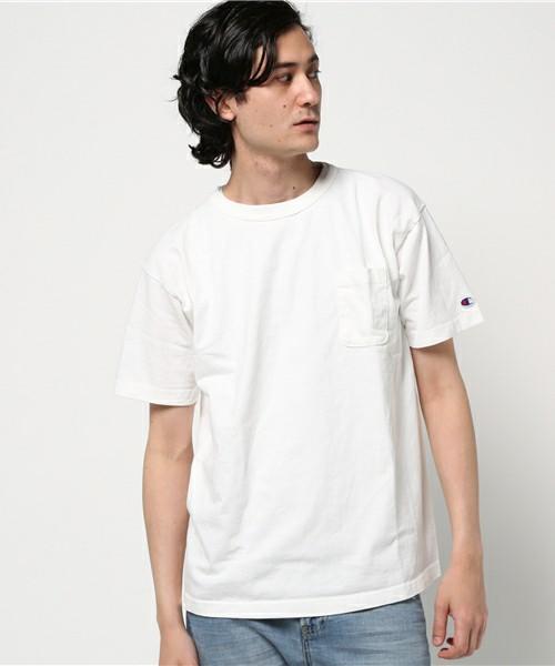 Champion 無地Tシャツ