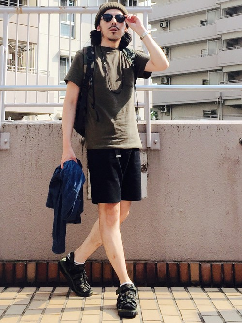 無地Tシャツ(ブラウン)