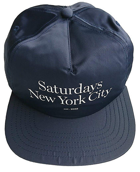 saturdays new york city キャップ