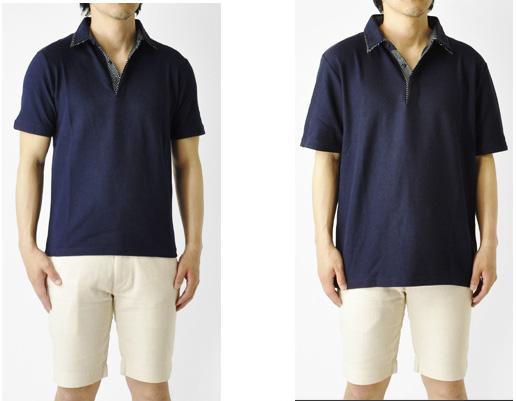 ポロシャツ サイズ感