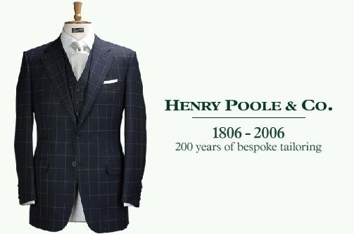 HENRY POOLE(ヘンリー・プール)