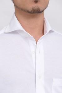 ホリゾンタルカラー シャツ