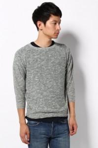 ボートネックセーター