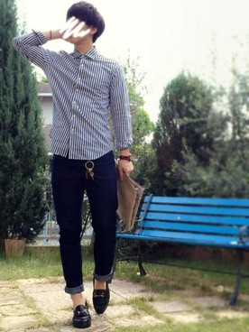mens-stripe-shirt-coordinate-8