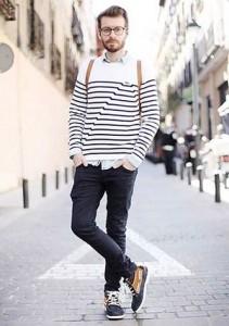 201609_Menz_striped shirt_ knit_a dandy_dressing well_ technique_041