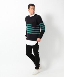 201609_Menz_striped shirt_ knit_a dandy_dressing well_ technique_013