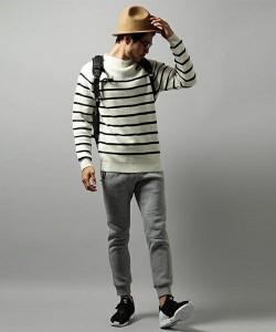 201609_Menz_striped shirt_ knit_a dandy_dressing well_ technique_016