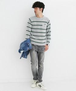 201609_Menz_striped shirt_ knit_a dandy_dressing well_ technique_014