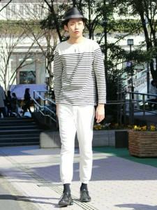 201609_Menz_striped shirt_ knit_a dandy_dressing well_ technique_034