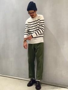 201609_Menz_striped shirt_ knit_a dandy_dressing well_ technique_009