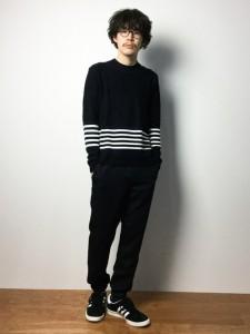 201609_Menz_striped shirt_ knit_a dandy_dressing well_ technique_015
