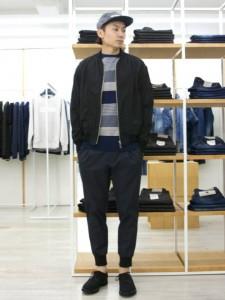 201609_Menz_striped shirt_ knit_a dandy_dressing well_ technique_022