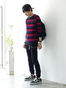 201609_Menz_striped shirt_ knit_a dandy_dressing well_ technique_021