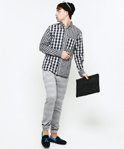 201609_Menz_a gingham shirt_be popular_different colored_coordination_022