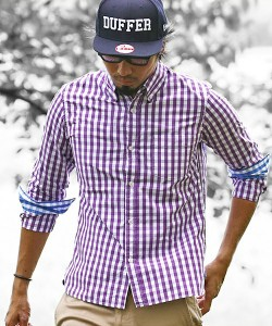 201609_Menz_a gingham shirt_be popular_different colored_coordination_001