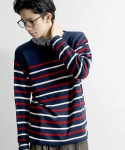 201609_Menz_striped shirt_ knit_a dandy_dressing well_ technique_004