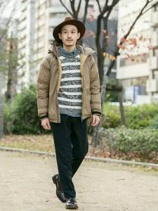 201609_Menz_striped shirt_ knit_a dandy_dressing well_ technique_020