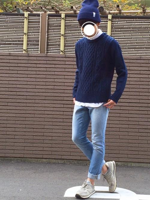 【使用GUアイテム:セーター】