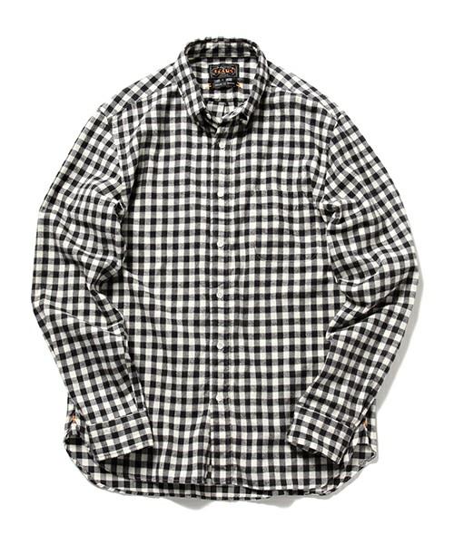 201610_Menz_a waistcloth_A plaid shirt_seasondressing well_coordination_033