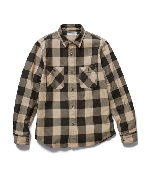 201610_Menz_a waistcloth_A plaid shirt_seasondressing well_coordination_037