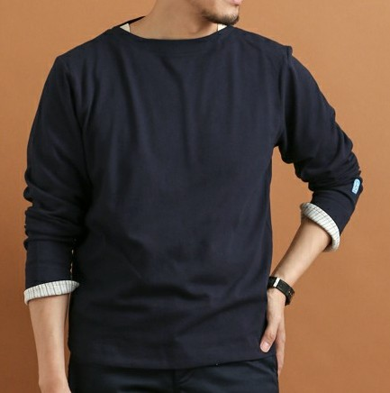 FORK&SPOON Marin Boat Neck Cut Sew
