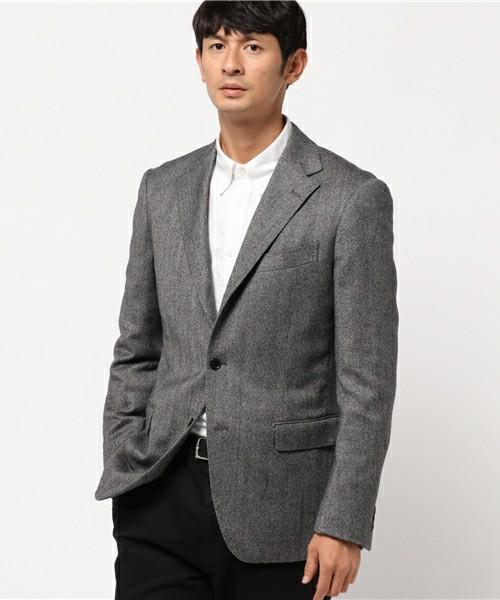 Yシャツ×テーラードジャケット