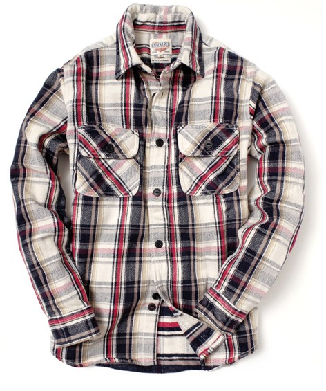 201610_Menz_a waistcloth_A plaid shirt_seasondressing well_coordination_036