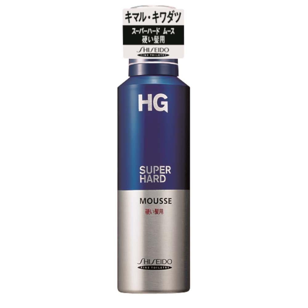 HG/スーパーハードムース 硬い髪用180g