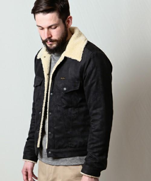 メンズ】この冬おすすめのボアデニムジャケットの着こなし術