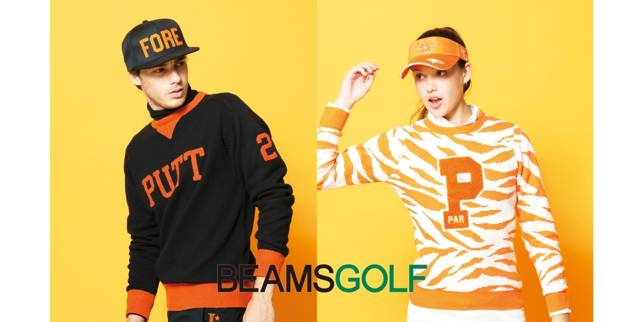 BEAMS GOLF(ビームスゴルフ)ロゴ