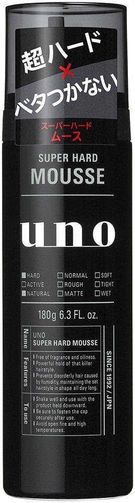 uno/スーパーハードムース 180g