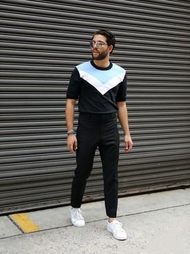 出典:http//wear.jp/men,brand/christianlouboutin/shoes/sneakers/. コーディネート