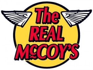 THE REAL McCOY'S ロゴ