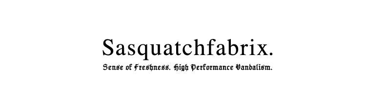 Sasquatchfabrix.(サスクワッチファブリックス)