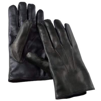 タッチパネル対応 レザー手袋