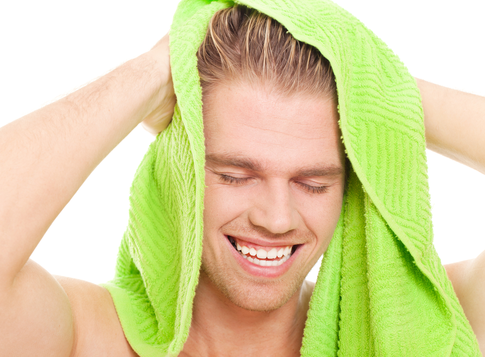 しっかり洗って寝癖リセット