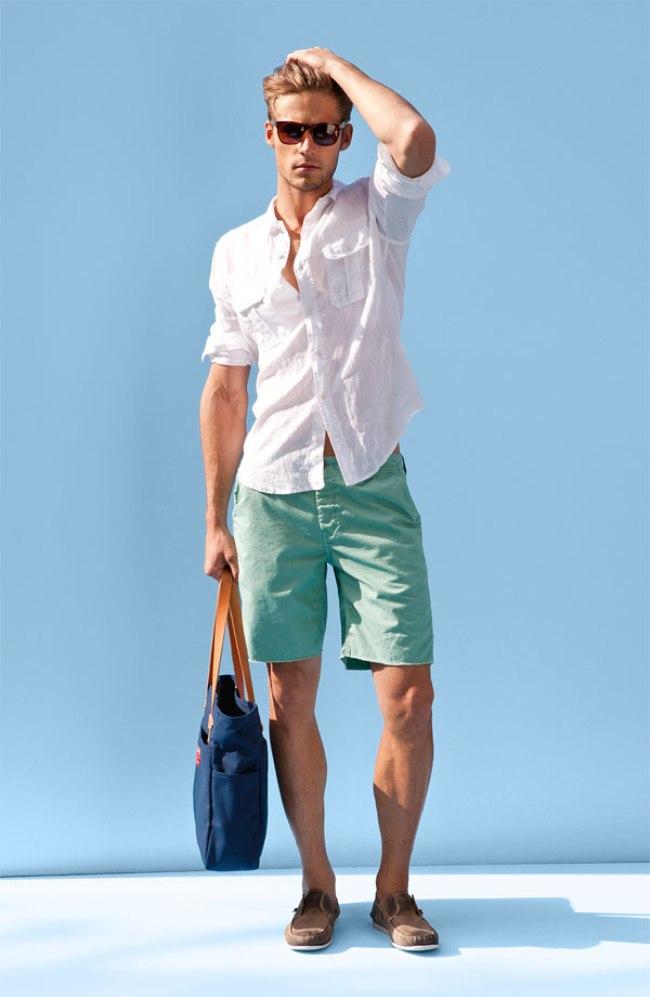 爽やかさ溢れる夏の着こなし