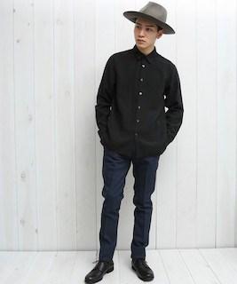 男らしさを上げるならこれ!黒シャツのおすすめコーデ11選