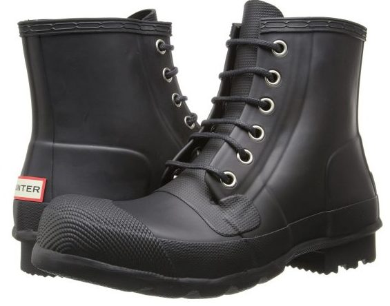 HUNTER ORIGINAL RUBBER LACE UP