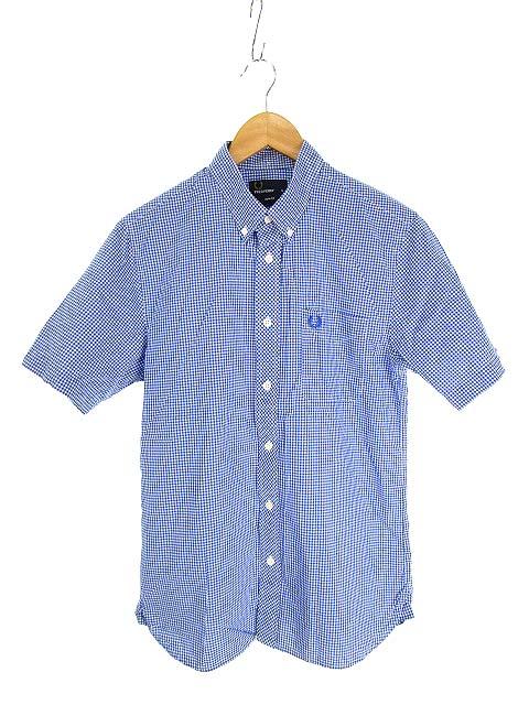 FRED PERRY(フレッドペリー) 青シャツ