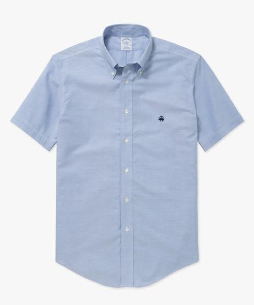 スーピマコットンGFショートスリーブカジュアルシャツ