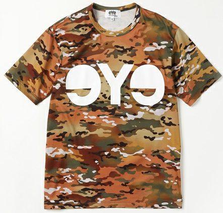 カモフラ総柄Tシャツ