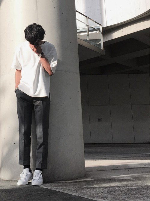 グレースラックス×白T