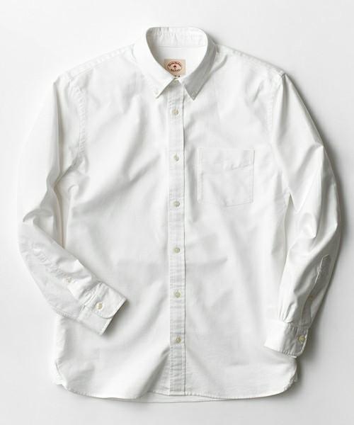 スーピマコットンオックスフォードベーシックボタンダウンシャツ