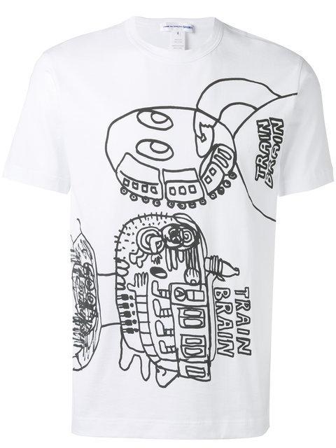 Train Brain Tシャツ
