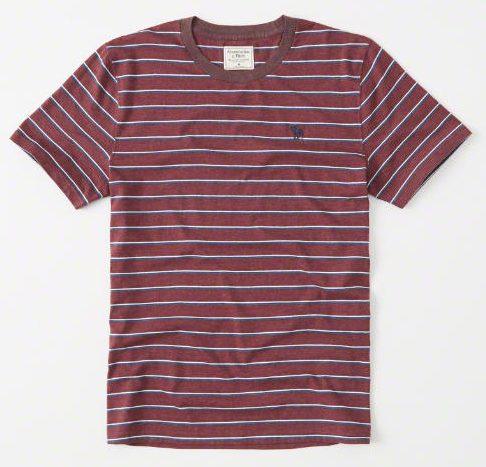 ポケット付きボーダーTシャツ