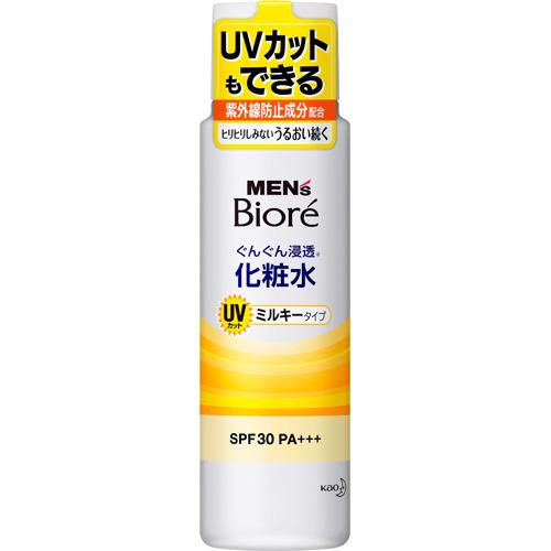 メンズビオレ 浸透化粧水 UVミルキータイプ